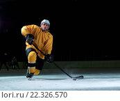 Купить «ice hockey player in action», фото № 22326570, снято 22 мая 2019 г. (c) easy Fotostock / Фотобанк Лори