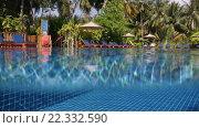 Купить «Вода в бассейне», видеоролик № 22332590, снято 24 ноября 2014 г. (c) Андрей Армягов / Фотобанк Лори