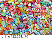 Купить «Colorful Beads», фото № 22354470, снято 17 августа 2018 г. (c) PantherMedia / Фотобанк Лори