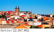 General view of Astorga. Стоковое фото, фотограф Яков Филимонов / Фотобанк Лори