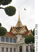 Купить «Таиланд. Бангкок. Королевский дворец.», фото № 22409786, снято 11 августа 2015 г. (c) Евгений Тиняков / Фотобанк Лори