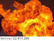Купить «Пламя в небе», фото № 22411266, снято 4 июня 2015 г. (c) Икан Леонид / Фотобанк Лори