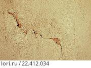 Старая штукатурка на каменной стене. Стоковое фото, фотограф Зезелина Марина / Фотобанк Лори
