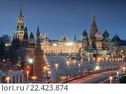 Достопримечательности архитектуры Московского Кремля (2016 год). Стоковое фото, фотограф Сергей Алимов / Фотобанк Лори