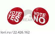 Купить «Voting pins turning around themselves», видеоролик № 22426162, снято 23 июля 2019 г. (c) Wavebreak Media / Фотобанк Лори