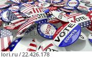 Купить «Voting pins dropping on the floor», видеоролик № 22426178, снято 23 июля 2019 г. (c) Wavebreak Media / Фотобанк Лори