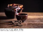 Купить «Pu-erh chinese tea», фото № 22451770, снято 18 августа 2018 г. (c) PantherMedia / Фотобанк Лори