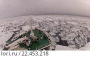 Купить «Путешествие сквозь лед Арктики», видеоролик № 22453218, снято 2 апреля 2016 г. (c) Vladimir / Фотобанк Лори