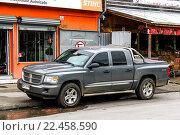 Купить «Dodge Dakota», фото № 22458590, снято 20 ноября 2015 г. (c) Art Konovalov / Фотобанк Лори