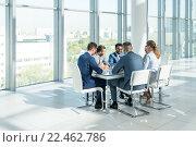Купить «In office», фото № 22462786, снято 25 сентября 2015 г. (c) Raev Denis / Фотобанк Лори