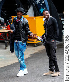 Купить «'X Factor' finalists arrive for the final rehearsals ahead of this weekend's live show. Featuring: Reggie n Bollie Where: London, United Kingdom When: 06 Nov 2015 Credit: WENN.com», фото № 22496166, снято 6 ноября 2015 г. (c) age Fotostock / Фотобанк Лори