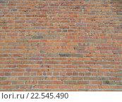 Стена кирпичная. Стоковое фото, фотограф Юлия Каюнова / Фотобанк Лори