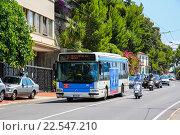 Купить «Irisbus CityBus», фото № 22547210, снято 2 августа 2014 г. (c) Art Konovalov / Фотобанк Лори