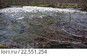Купить «Весенний поток», видеоролик № 22551254, снято 17 ноября 2015 г. (c) Андрей Армягов / Фотобанк Лори