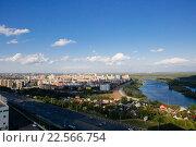 Купить «Город Уфа», фото № 22566754, снято 25 июля 2015 г. (c) Михаил Валеев / Фотобанк Лори