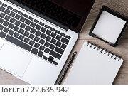 Рабочий стол бизнесмена. Стоковое фото, фотограф Людмила Дутко / Фотобанк Лори