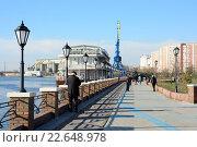 Купить «Москва, парк Печатники», эксклюзивное фото № 22648978, снято 17 апреля 2016 г. (c) Alexei Tavix / Фотобанк Лори