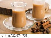 Купить «Masala chai», фото № 22674738, снято 24 января 2019 г. (c) PantherMedia / Фотобанк Лори