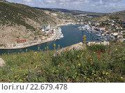 Купить «Балаклава, Крым», эксклюзивное фото № 22679478, снято 21 апреля 2016 г. (c) Яна Королёва / Фотобанк Лори