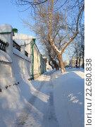 Солнечный зимний день. Стоковое фото, фотограф Андрей Спицын / Фотобанк Лори