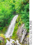 Птичий  водопад абхазия. Стоковое фото, фотограф Дмитрий Панкрашин / Фотобанк Лори