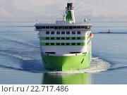 Купить «Финляндия. Хельсинки. Паром компании Tallink», эксклюзивное фото № 22717486, снято 23 апреля 2016 г. (c) Александр Тарасенков / Фотобанк Лори