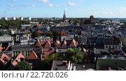 Купить «Torun is city in northern Poland on Vistula River», видеоролик № 22720026, снято 6 ноября 2015 г. (c) BestPhotoStudio / Фотобанк Лори