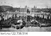 Купить «The unveiling of the kaiser wilhelm monument in berlin, germany, 1897, historic wood engraving, about 1897», фото № 22738514, снято 14 декабря 2018 г. (c) age Fotostock / Фотобанк Лори