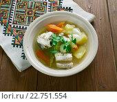 Купить «Russian fish soup», фото № 22751554, снято 22 апреля 2016 г. (c) Александр Fanfo / Фотобанк Лори