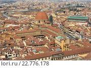 Флоренция. В центре панорамы-Базилика Сан Лоренцо (2016 год). Стоковое фото, фотограф Сергей Котков / Фотобанк Лори