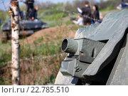 Немецкое артиллерийское орудие. Стоковое фото, фотограф Юдин Владимир / Фотобанк Лори
