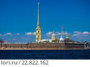 Петропавловская крепость. Санкт-Петербург (2016 год). Стоковое фото, фотограф Дмитрий Девин / Фотобанк Лори