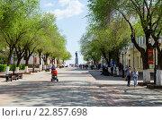 Оренбург, улица Советская, фото № 22857698, снято 7 мая 2016 г. (c) Вадим Орлов / Фотобанк Лори