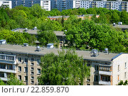 Купить «Zelenograd - sleeping area of Moscow, Russia», фото № 22859870, снято 13 мая 2016 г. (c) Володина Ольга / Фотобанк Лори