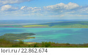 Купить «Красочное озеро в Кавказских горах», фото № 22862674, снято 22 апреля 2016 г. (c) александр жарников / Фотобанк Лори