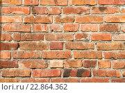 Старая кирпичная стена. Стоковое фото, фотограф Ольга Коцюба / Фотобанк Лори