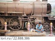 Купить «the World War 2 Museum at the River Kwai of the Burma-Thailand Railway in the City of Kanchanaburi in Central Thailand in Southeastasia.», фото № 22888386, снято 8 июля 2020 г. (c) age Fotostock / Фотобанк Лори