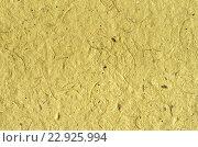 Жёлтый фон - текстура декоративной цветной бумаги. Стоковое фото, фотограф Светлана Пасечная / Фотобанк Лори