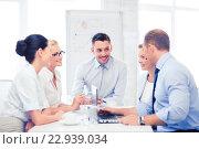 Купить «business team having meeting in office», фото № 22939034, снято 9 июня 2013 г. (c) Syda Productions / Фотобанк Лори