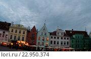 Купить «Старый город в Таллине, Эстония», видеоролик № 22950374, снято 19 мая 2009 г. (c) Куликов Константин / Фотобанк Лори