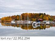 Яхт-клуб в Стегеборге (2013 год). Стоковое фото, фотограф Екатерина Давыдова / Фотобанк Лори