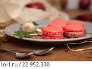 Малиновый десерт. Стоковое фото, фотограф Екатерина Давыдова / Фотобанк Лори