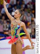 Гимнастка Арина Аверина (2016 год). Редакционное фото, фотограф Alexander Mirt / Фотобанк Лори