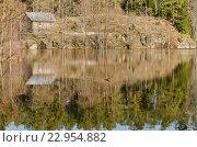 Коневское озеро. Стоковое фото, фотограф Виктор Евстратов / Фотобанк Лори