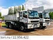Купить «Isuzu CXZ», фото № 22956422, снято 15 мая 2008 г. (c) Art Konovalov / Фотобанк Лори