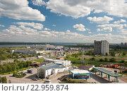Купить «Изгиб реки Волга», фото № 22959874, снято 20 мая 2016 г. (c) Владимир Гуторов / Фотобанк Лори