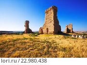 Купить «castle of Palenzuela», фото № 22980438, снято 27 мая 2019 г. (c) Яков Филимонов / Фотобанк Лори