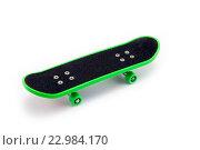 Скейтборд на белом фоне. Стоковое фото, фотограф Ольга Еремина / Фотобанк Лори