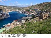 Купить «Балаклава. Крым», эксклюзивное фото № 22991694, снято 21 апреля 2016 г. (c) Яна Королёва / Фотобанк Лори