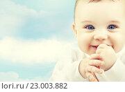 Купить «adorable baby boy», фото № 23003882, снято 22 декабря 2007 г. (c) Syda Productions / Фотобанк Лори
